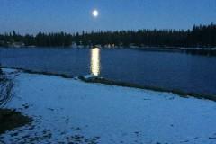 Blue-on-Lake